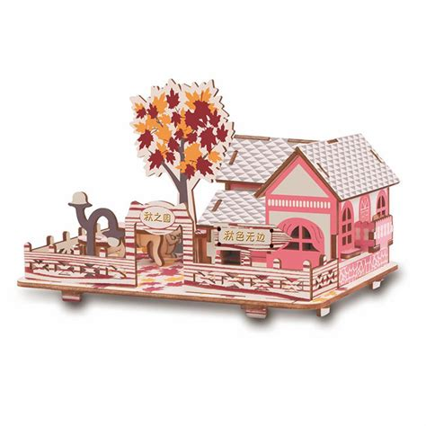 Wood Craft Model Construction Kit
